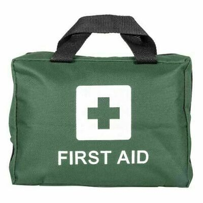 110 Piece First Aid Kit Bag Medical Emergency Kit Travel Car Taxi Home Workplace