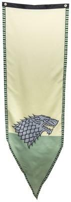 "Game of Thrones Winterfell Stark 19"" x 60"" Fabric Tournament Banner"