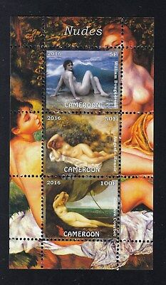 10x Art Painting Nude Paintings- perf - Privat Local Issue [PL8] not MNH