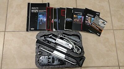 2007 2015 Mini Cooper R55 R59 Tool Jack Kit With Complete Owners Manual