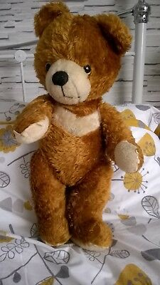 Large 23 inch Vintage Teddy Bear with Growler