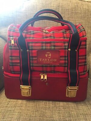 New TAYLOR 4 Bowl, Bowls Bag with 2 Carry Handles, + Lots Of Compartments