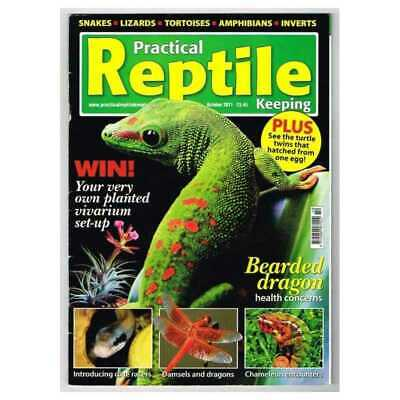 Practical Reptile Keeping Magazine October 2011 MBox1748 Bearded dragon