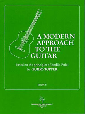 Auteur TOPPER Guido A Modern approach to the guitar : - Vol. II