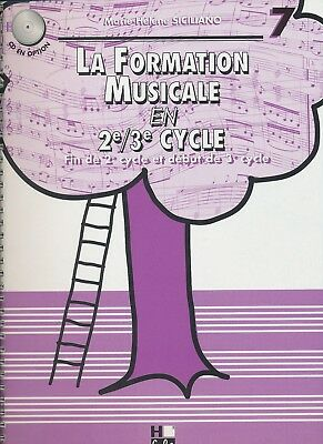 La Formation Musicale en 2e/3e cycle Vol. 7  M-H. Siciliano