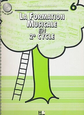 La Formation Musicale en 2e cycle Vol. 6  M-H. Siciliano