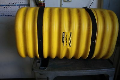 "Eagle 1708 Column Protector, 8"" Column Opening Yellow Used"
