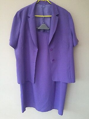 Dorothy Perkins Two Piece Suit Skirt Jacket Size 20