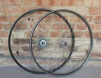Vintage Mavic Open 4CD 700c Wheels Mavic 500 Hubs Retro Bike 7 Speed Eroica