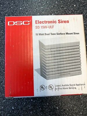 Lot of 32 DSC SD 15W-ULF Indoor Sirens