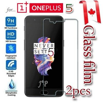 2x OnePlus 5 Tempered Glass / Pet LCD Screen Protector LCD Guard Film