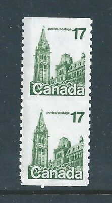 Canada 806a Imperf Coil with Trace 806 Flag Roll Stamp MNH ** Free Shipping **