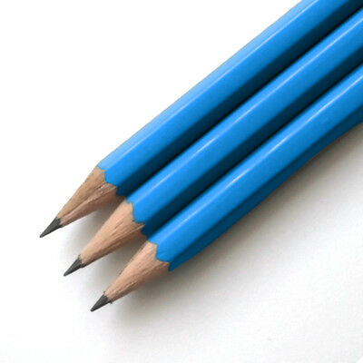 Blue HB Pencils *Personalised* with 1 name or message in capital letters only