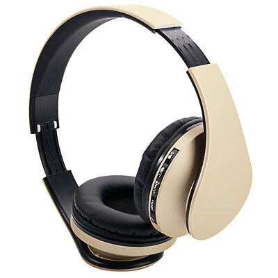 32G Foldable Wired Bluetooth Noise Canceling Headphones +Mic FM 3.5 Stereo MP3