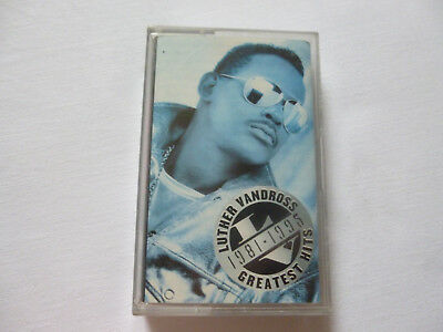 Luther Vandross ~ Greatest Hits 1981-1995 ~ 'best Of' Pop/soul Cassette Tape