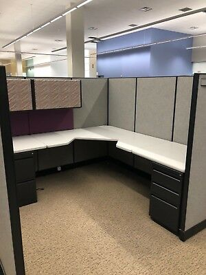 7 1/2' x 7 1/2' Cubicles / Partitions by Haworth Office Furniture