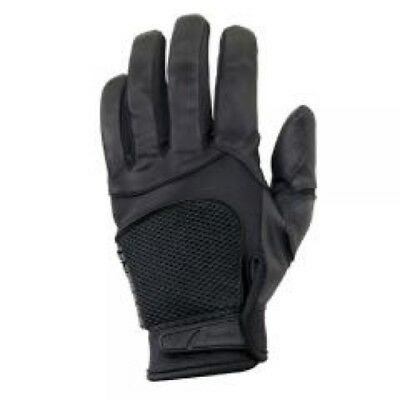 Franklin Uniforce Size XL Full Grain Leather Black Tactical Police Duty Gloves