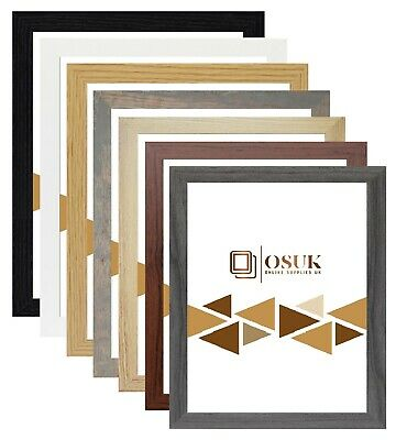 A1 A2 A3 A4 A5 Photo Picture Frame Modern Poster Frame Black White Grey Natural