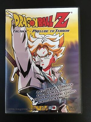 Dragonball Z, Trunks: Prelude to Terror DVD Japanese and English Uncut Version