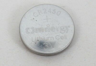 NEW- CR2450 3V Omnergy Lithium Coin Cell Battery 5-Pack