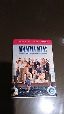 Mamma Mia! Here We Go Again DVD 2 disc sing along edition watched once