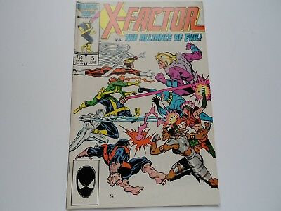 X-Factor 5 (1986) FIRST APOCALYPSE APPEARANCE in cameo