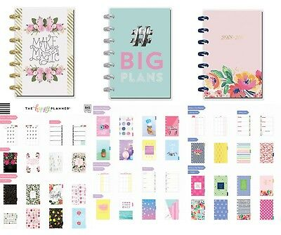 THE HAPPY PLANNER Mini 12 Month Disc Bound_July 2018-June 2019 UNUSED