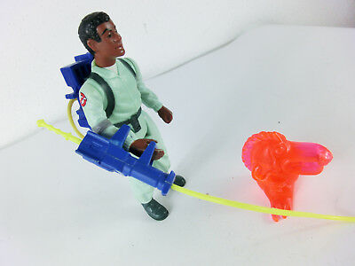 The Real Ghostbusters Winston Zeddmore 1984  Actionfigur Vintage Kenner