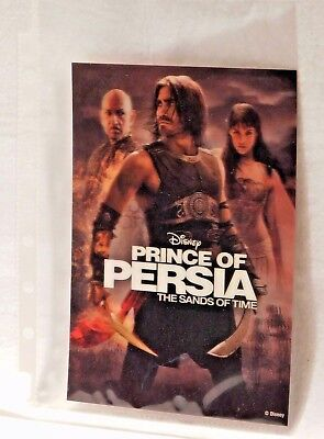 PRINCE OF PERSIA THE SANDS OF TIME Disney Movie Club 3D Lenticular Card NEW