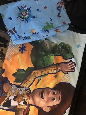 Toy Story Toddler Sheet And Pillowcase