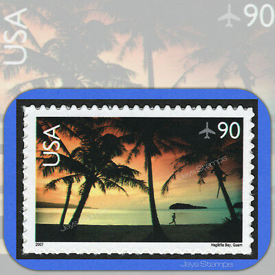 2007 HAGÅTÑA BAY Scenic American Landscapes 90¢ Single AIR MAIL #C143