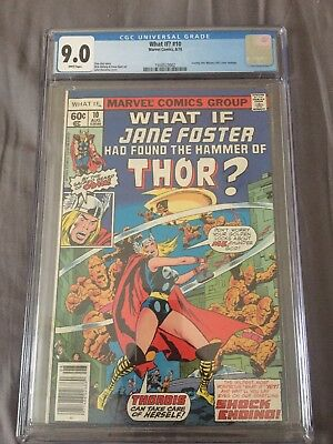 1978 Marvel What If? #10 1St Jane Foster Thor Journey Mystery #83 Homage Cgc 9.0