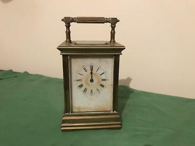 Antique French Carriage Clock with Key