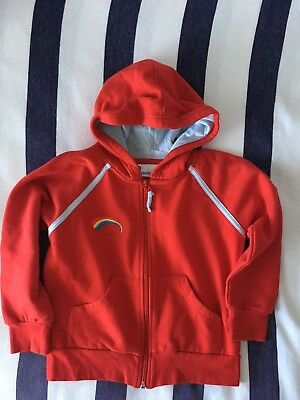 Rainbows Hoodie Size Small EUC Uniform Red Age 6?