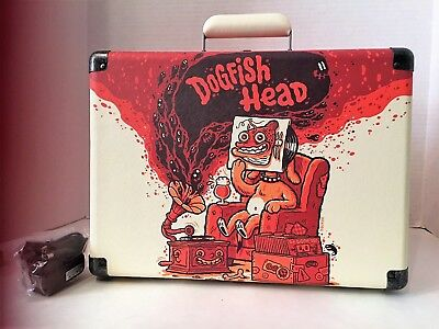 DOGFISH HEAD BREWERY PORTABLE CROSLEY CR8005d RECORD PLAYER w/Bluetooth