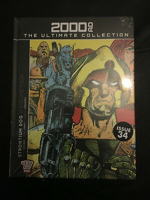2000AD THE ULTIMATE COLLECTION  Strontium Dog: Volume 4 - Issue 34