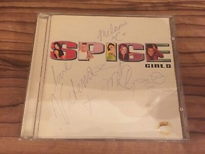Spice Girls Signed Autograph Album