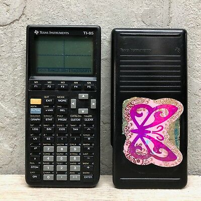 Texas Instruments TI-85 Graphing Calculator w/ Cover Tested Working