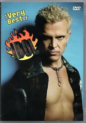 Billy Idol DVD The Very Best Of Brand New Sealed Rare