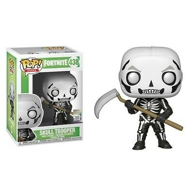Funko - Pop Games: Fortnite S1 - Skull Trooper Brand New In Box