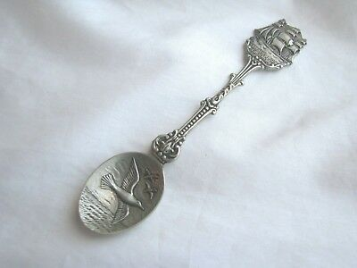 Vintage St Petersburg Souvenir Spoon Bounty Ship Holland Bird Spoon