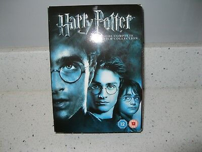 Harry Potter Complete 8 Film Collection 8 Disc Dvd, Boxed Set .
