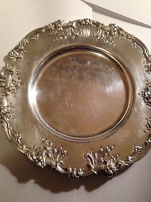 Reed & Barton FRANCIS I Sterling Silver - Set of 8 BREAD & BUTTER PLATES - Mono