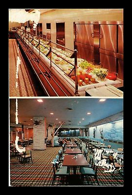 Dr Jim Stamps Us Cafeteria Dining Room Goodie Shop Terre Haute Indiana Postcard