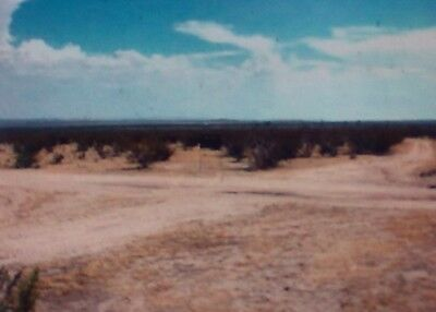 A nearly five acres land parcel fronting on public streets - California City, CA