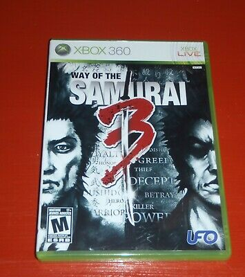 Way of the Samurai 3 (Microsoft Xbox 360, 2009) -Complete