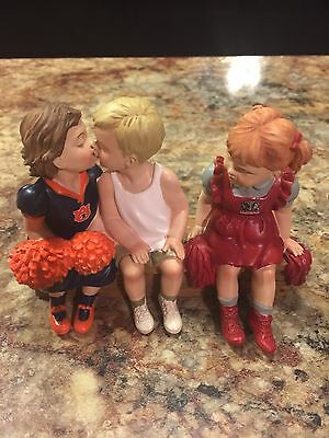 Auburn Tigers Right Choice Figurine Vs Alabama Extremely Rare.