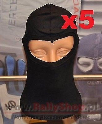 Sandtler Basic Balaclava, ONE SZIE 5 IN SET, FREE DELIVERY (Race, Rally, Kart)