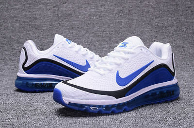 huge selection of 128a1 5c633 MENS NIKE AIR Max Audacity B-Ball Blue Athletic Sneakers ...