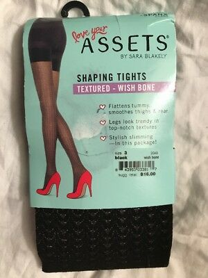 93b9af463ea14 Spanx Assets Shaping Wish Bone Textured Shaping Tights by Sara Blakely 2049  Socks & Hosiery Clothing, ...